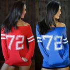 Women Long Sleeve Hoodie Sweater Sweatshirt Long Hooded Coat Tops Size S-XL