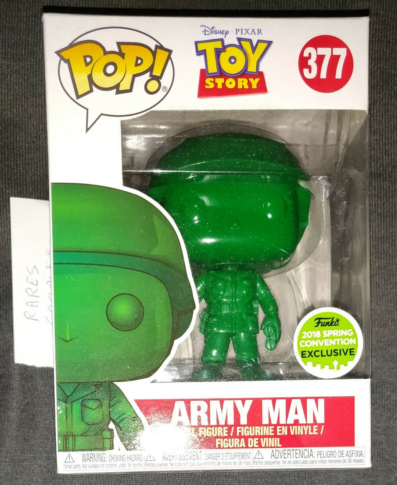 Funko Pop Army Man Toy Story ECCC 2018 Exclusive
