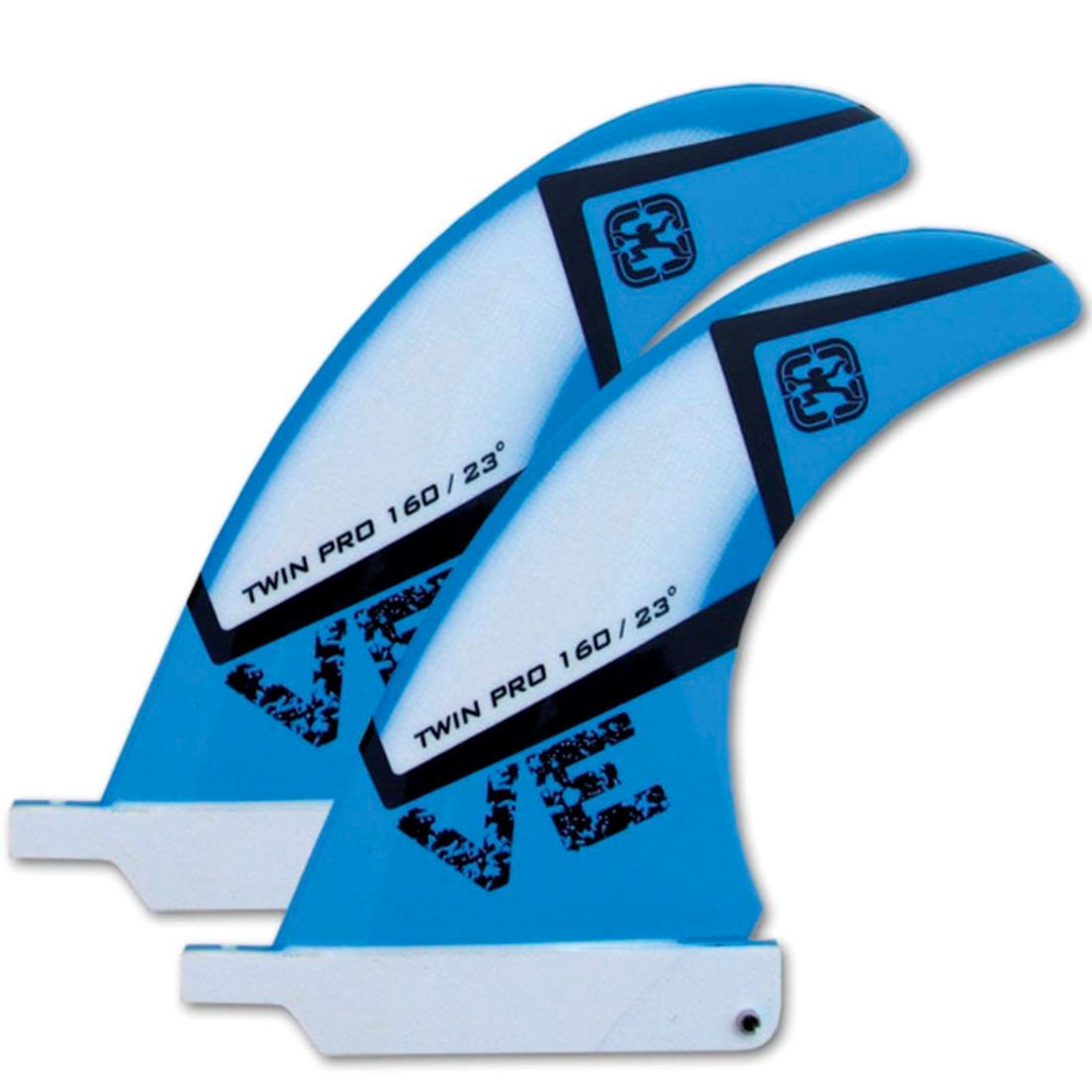 Tekknosport Finnen VE Twin Pro 160 US Box Windsurfen