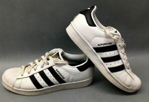 adidas superstar black white size 4