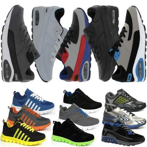 Homme Baskets Course Garçons Gym Marche antichoc la mode sportive chaussures taille