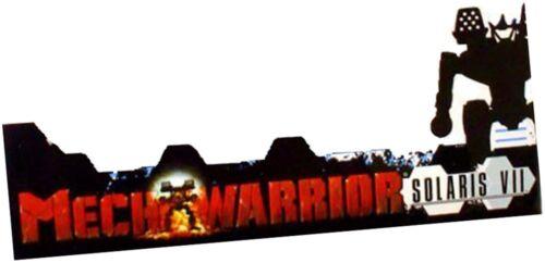 MechWarrior Miniature Figurine Game Piece Age of Destruction Solaris VII Wizkids