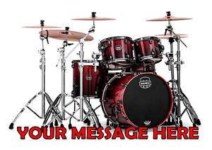 Image Is Loading DRUM KIT BIRTHDAY CAKE TOPPER A4 EDIBLE ICED