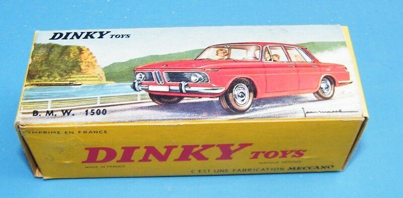 Frenh DINKY TOYS 534 534 534 BMW 1500 rouge mivnmb!!!   an OLD STOCK!!! | Une Grande Variété De Modèles 2019 New  359b44