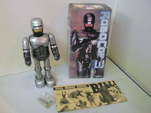 BILLIKEN SHOKAI Tinplate · Zenmai walking Robocop 3