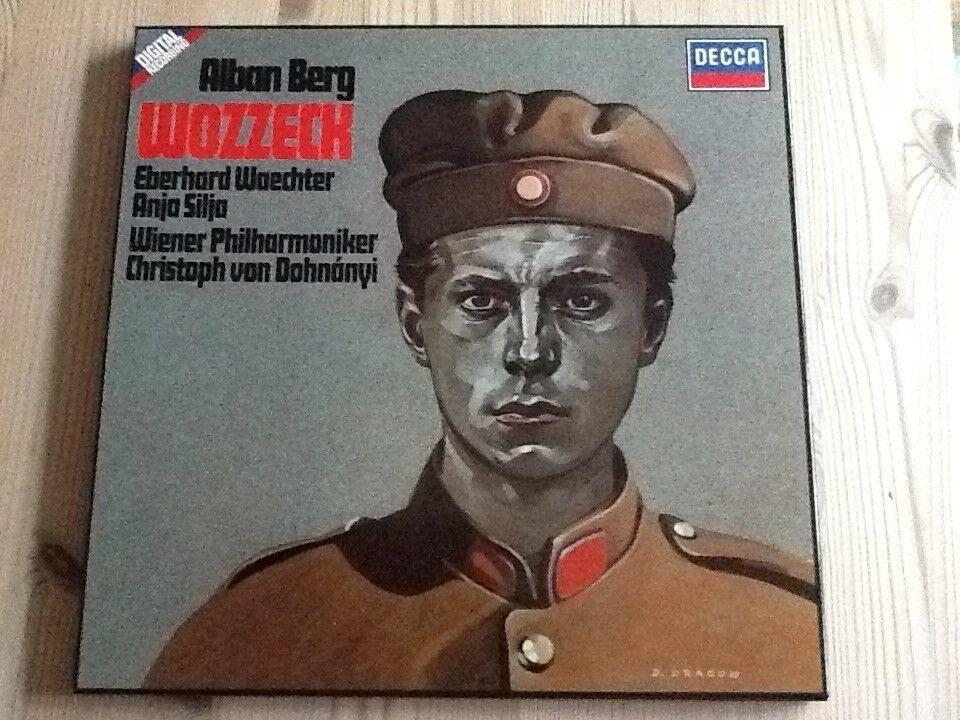 LP, Alban Berg, WOZZECK