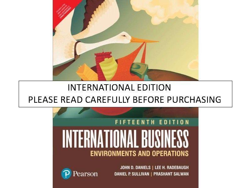 International Business Daniels 14th Edition Pdf