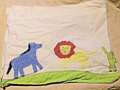 Pottery Barn Kids Pbk Jungle Safari Animals Window Valance