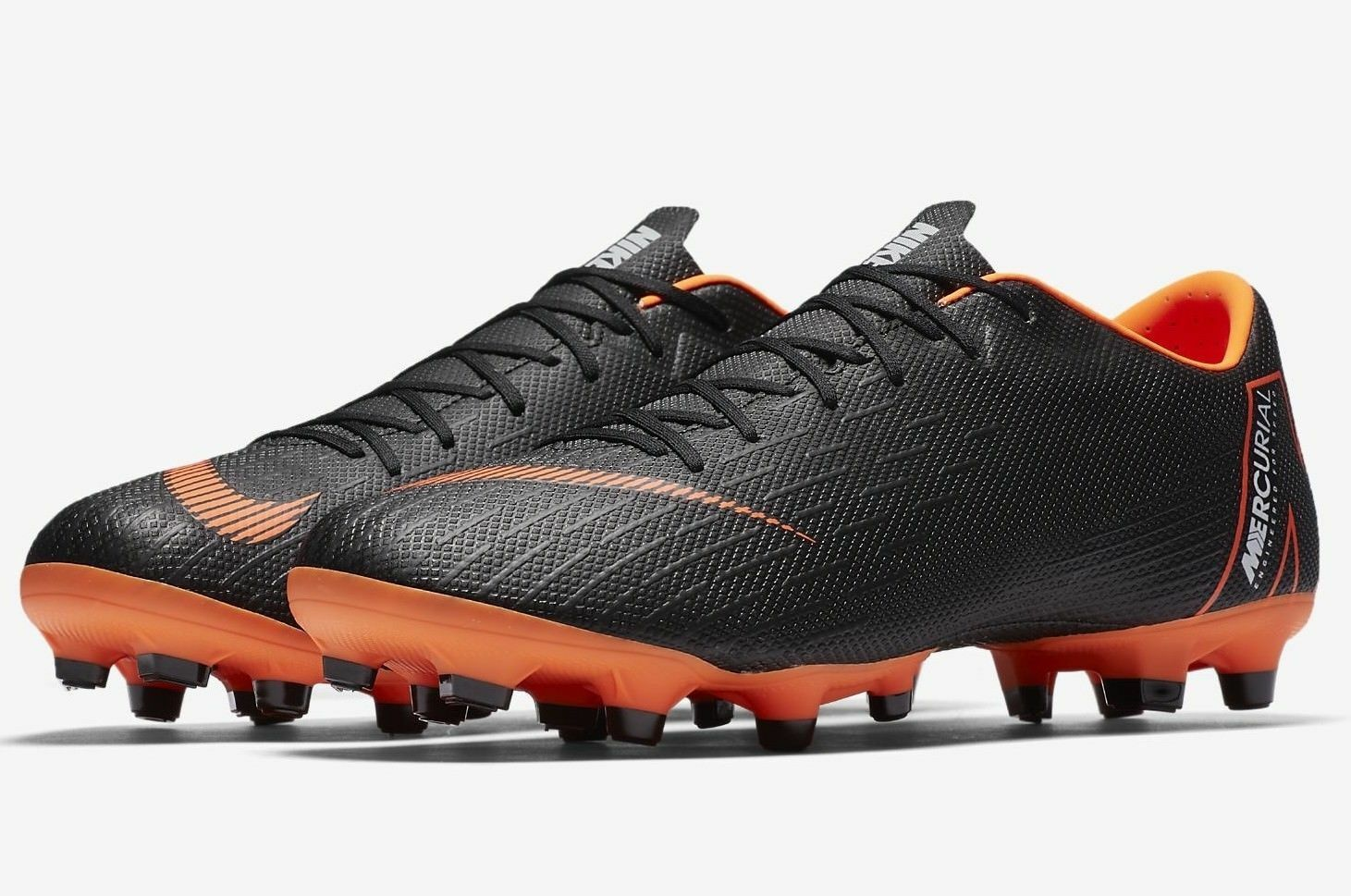 Nike Mercurial Vapor XII Academy MG Men's Soccer Cleats AH7375-081 10.5 12