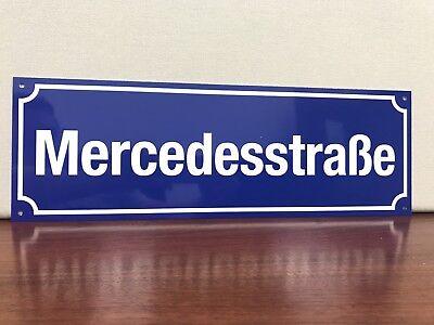 Porscheplatz metal sign German European Road Sign plaza