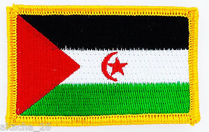 PATCH ECUSSON BRODE DRAPEAU SAHARA OCCIDENTAL INSIGNE THERMOCOLLANT NEUF FLAG XCo9bNuC-09093549-942098110