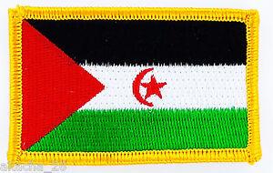 PATCH ECUSSON BRODE DRAPEAU SAHARA OCCIDENTAL INSIGNE THERMOCOLLANT NEUF FLAG XCo9bNuC-09093549-942098110