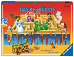 Ravensburger-26446-Das-verrueckte-Labyrinth-Kinderspiel-Neu-amp-OVP
