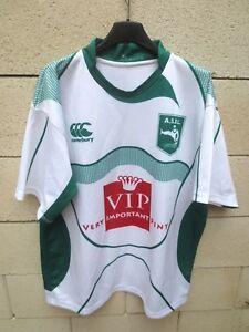Maillot-A-S-IDRON-LEE-rugby-A-S-I-L-porte-n-7-Canterbury-shirt-XL