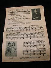 Partition Emmerich Kalman Das Veilchen vom Montmartre Music Sheet