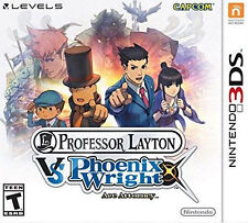 COMPLETE Professor Layton vs. Phoenix Wright: Ace Attorney (3DS, 2014)