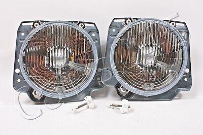 HELLA VW Golf Mk2 1983-1992 Headlights Front Lamps Left=Right 2pcs