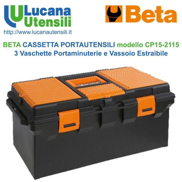 BETA CASSETTA PORTAUTENSILI modello CP15 - 3 Vaschette Portaminuterie Vassoio