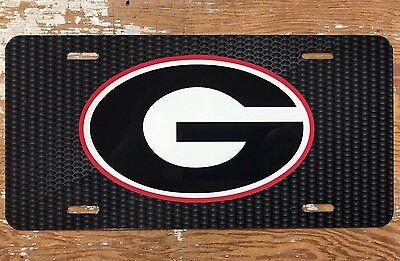 University of Georgia License Plates 04001 04294 04013 04009 04005 04053 04007 04049 CHEVRON STRIPE G TAG 04051