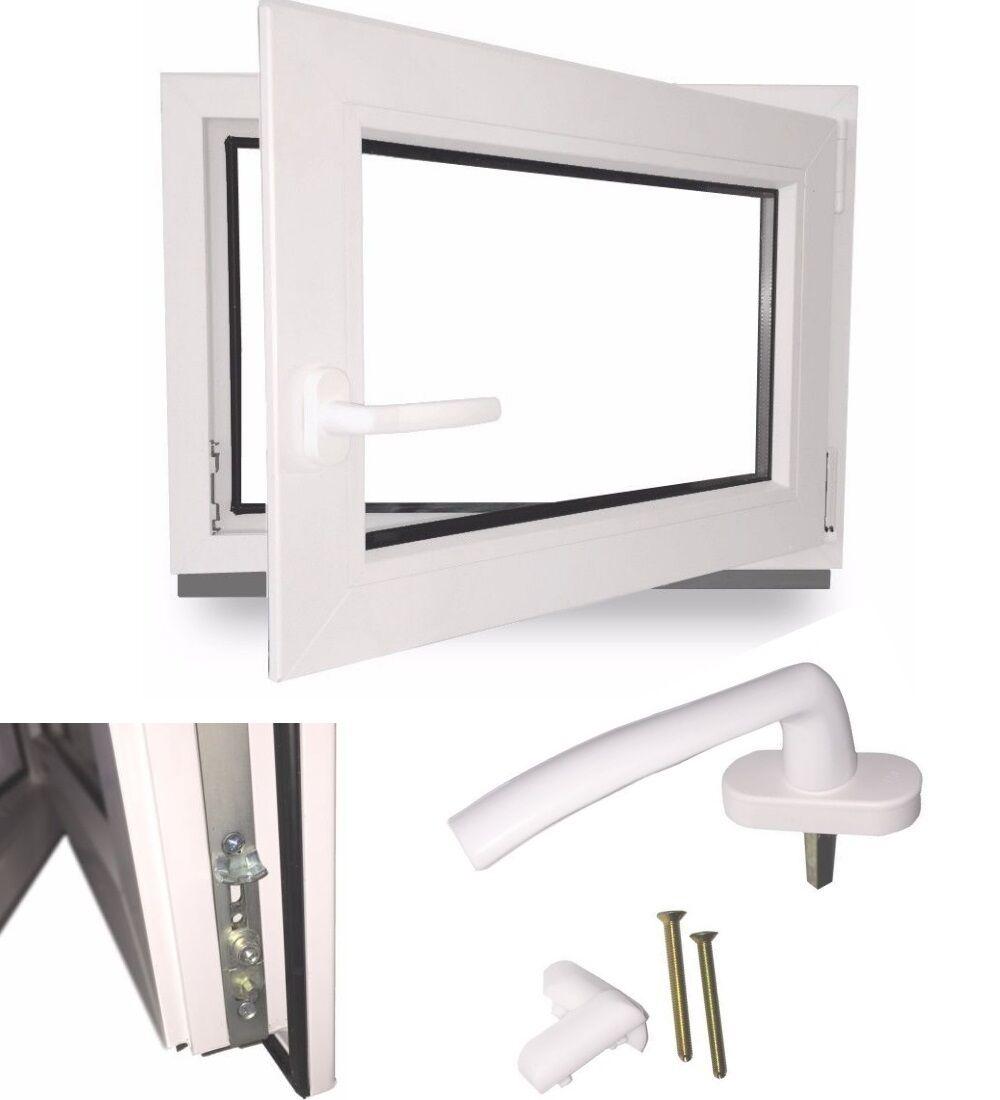 Fenster Kellerfenster Kunststofffenster Dreh Kipp 2 fach 3 fach Verglasung