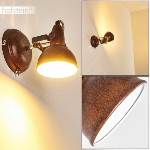 rostbraune Wohn Schlaf Zimmer Lampen Vintage Decken Wand Leuchten Flur Strahler