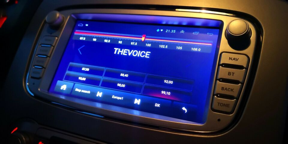 Multimedia system Ford Multimedie Touchskærm / Navi /