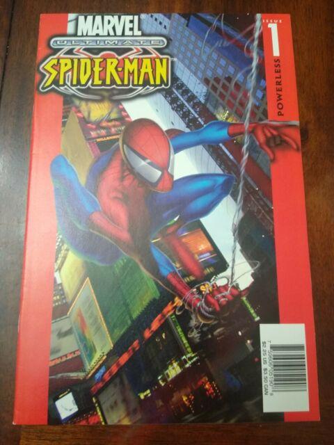 Ultimate Spider-Man #1 Comic (2000, Marvel) 1st App. of Ultimate Spiderman NM