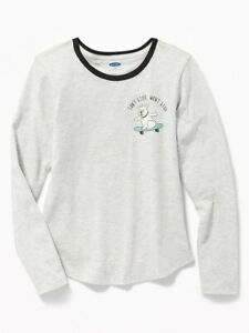 Toddler Girl/'s LS Crew Neck Thermal Top  Sizes 4 and 5//6    NWT!