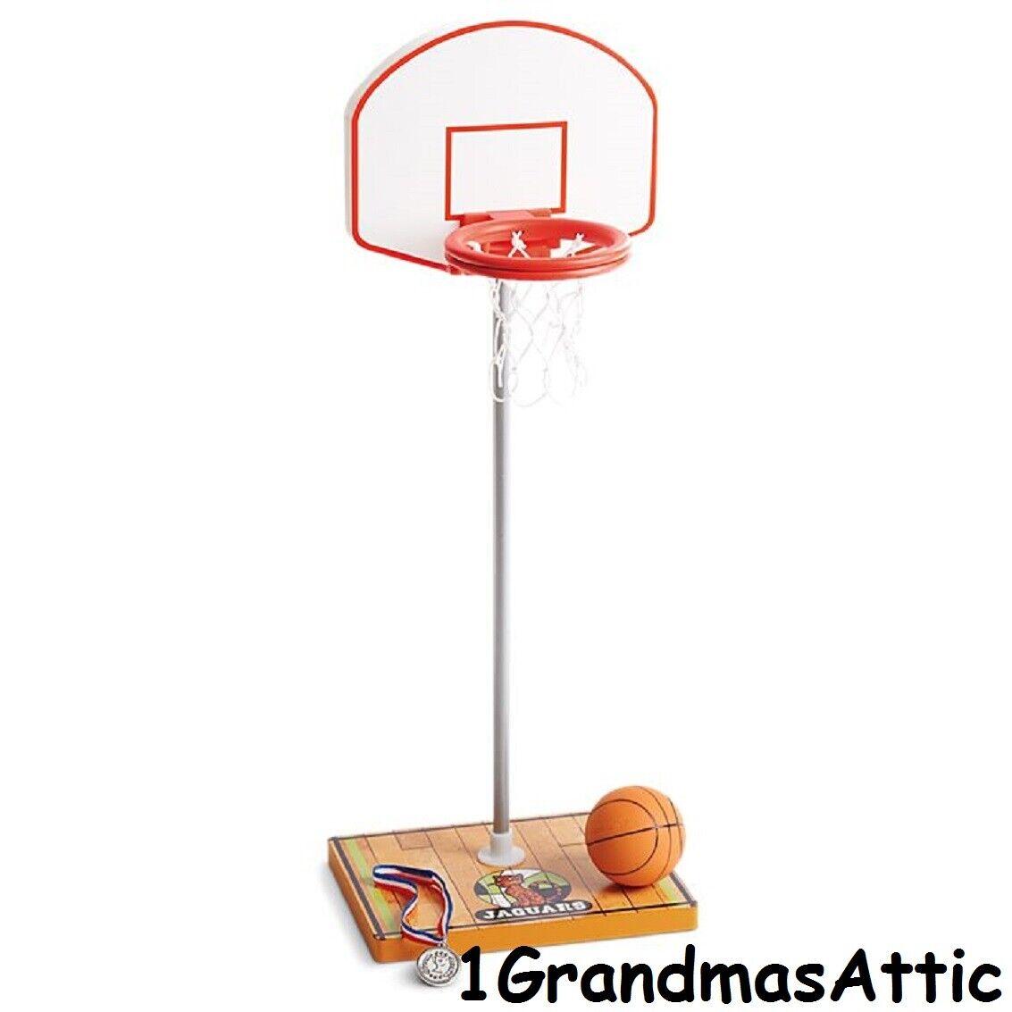 American Girl Julie's Basketball Accessories NIB Ball Hoop Medal