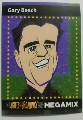 Gary Beach 2017 Megamix Lights of Broadway Trading Cards