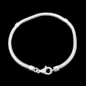 bracelet argent 925 maille serpent