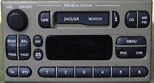 Jaguar S-Type AUX adapter lead 3.5mm jack in-car radio iPod MP3 CTVFOX001 iPhone