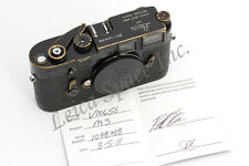 *Super Rare* Leica M3 Original Black Paint Lucky number Just CLA'd by Leica USA
