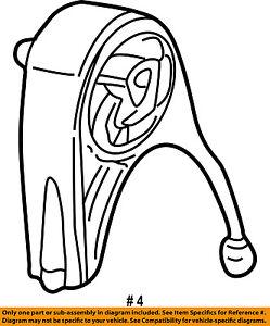 chrysler oem engine motor mount torque strut 4593337ab ebay Engine Parts Diagram image is loading chrysler oem engine motor mount torque strut 4593337ab