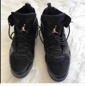 Men's Air Jordan's Black And Gold shoes size 15   eBay