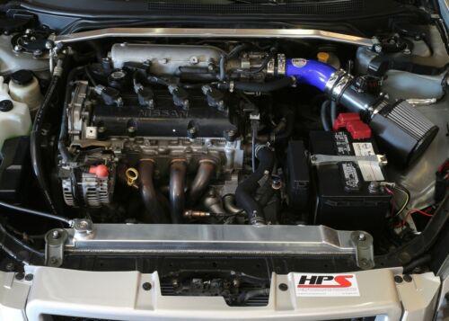 HPS Blue Shortram Air Intake Kit+Filter For 2002-2006 Nissan Altima 2.5L 4Cyl