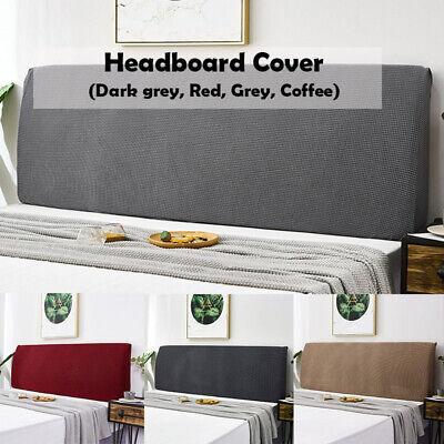 150 220CM Stretch Dustproof Bedding Headboard Cover Bed Head Bedspread Slipcover | eBay