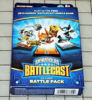 Skylanders Battlecast Mobile Game 22 Card Battle Pack NEW