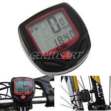 Computer Tachimetro Contachilometri con Fili LCD Bici Ciclismo Velocità Outdoor