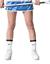 thumbnail 2 - Nike Dri-Fit John Hopkins Blue Jays Women's Lacrosse Skirt Kilt Blue,White $50