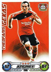 198 Theofanis Gekas-bayer Leverkusen-topps Match Attax 2009/2010-afficher Le Titre D'origine Xo6xasar-08010656-529687317