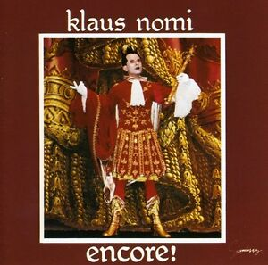 Klaus-Nomi-Encore-New-CD-Holland-Import
