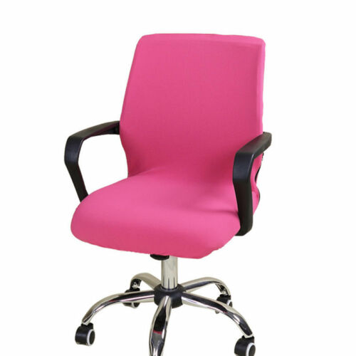 Study Office Armchair Slipcover Rotating Desk Chair Cover Protector Home Decor