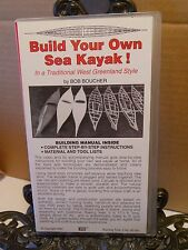 VHS Build Your Own Sea Kayak Video Woodworking How To Boucher Greenland Style