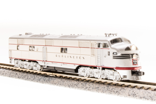BROADWAY LIMITED Scale N Train LOCOMOTIVE EMD 8A BURLINGTON DIESEL DCC Sound