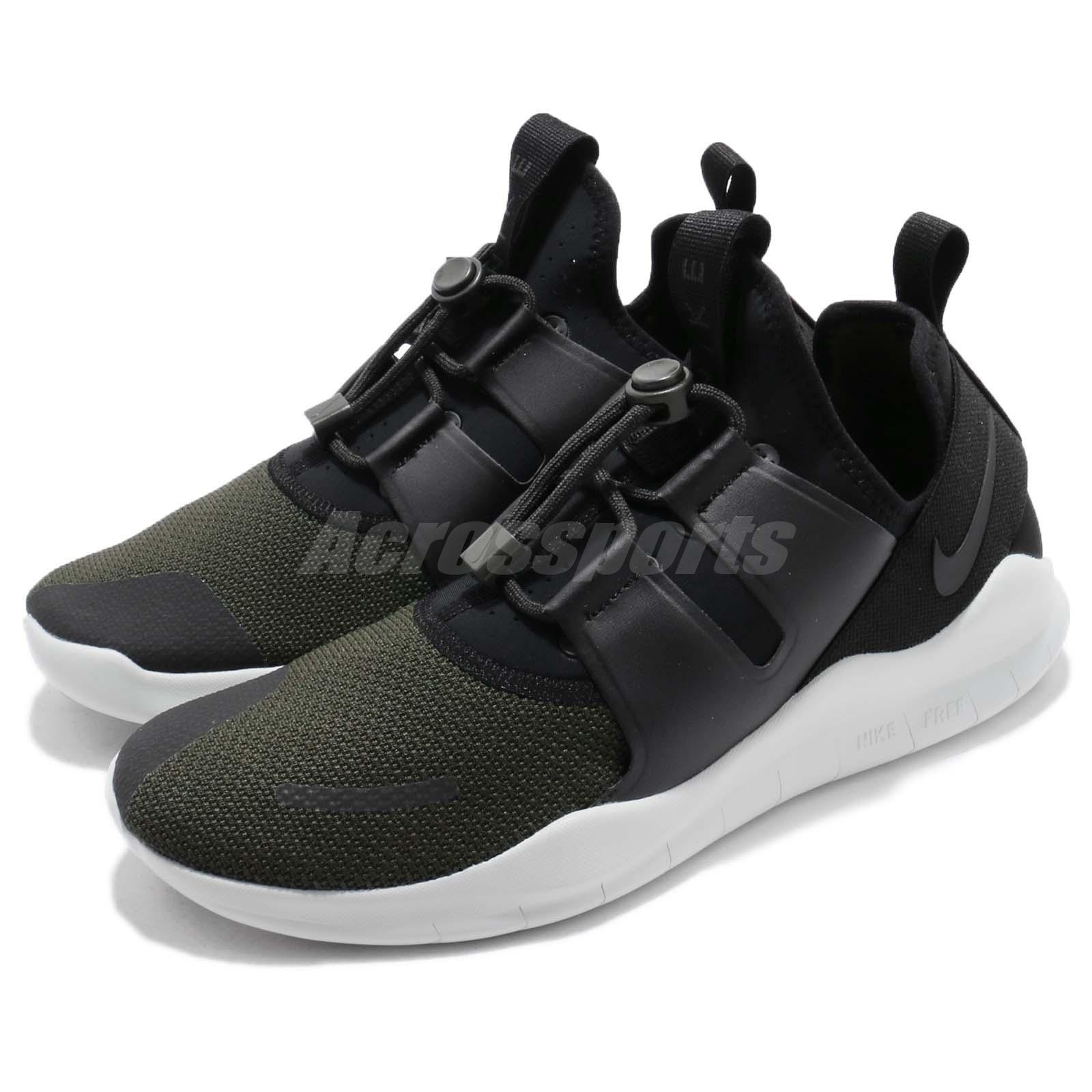 Nike Free RN CMTR 2018 PRM courir noir Sequoia homme fonctionnement chaussures Sneaker AJ8308-003