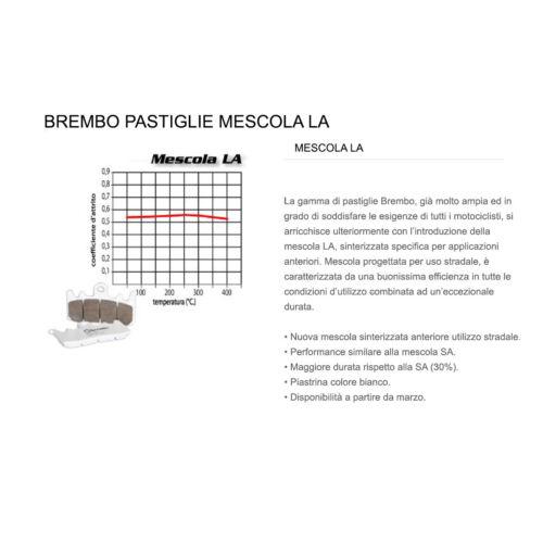 Pastiglie Brembo Freno Ant 07KA23.LA Victory CROSS COUNTRY TOUR 1731 2012 /> 2014
