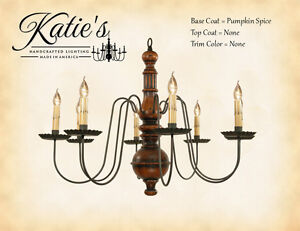 Image Is Loading Hamilton 8 Arm Wooden Chandelier By Katie 039