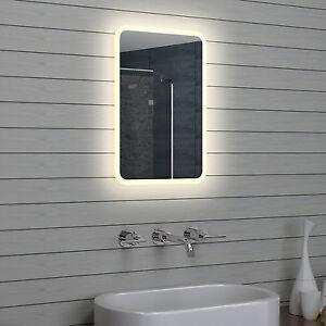 Details zu LED Beleuchtung Warm weiß licht Bad Badezimmer Wand Hänge  spiegel 40 x 60 cm
