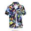 Mens-Hawaiian-T-Shirt-Summer-Floral-Printed-Beach-Short-Sleeve-Tops-Blouse-Hot thumbnail 10